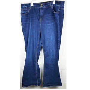 Lane Bryant High Rise Boot Dark Wash Jeans - 24